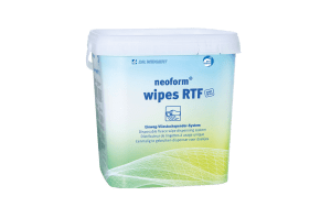 Desinfektionservietter. Neoform wipes.