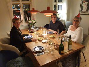 Dorte Egelund ApS julefrokost 2020. Med lækker mad fra Herthadalen
